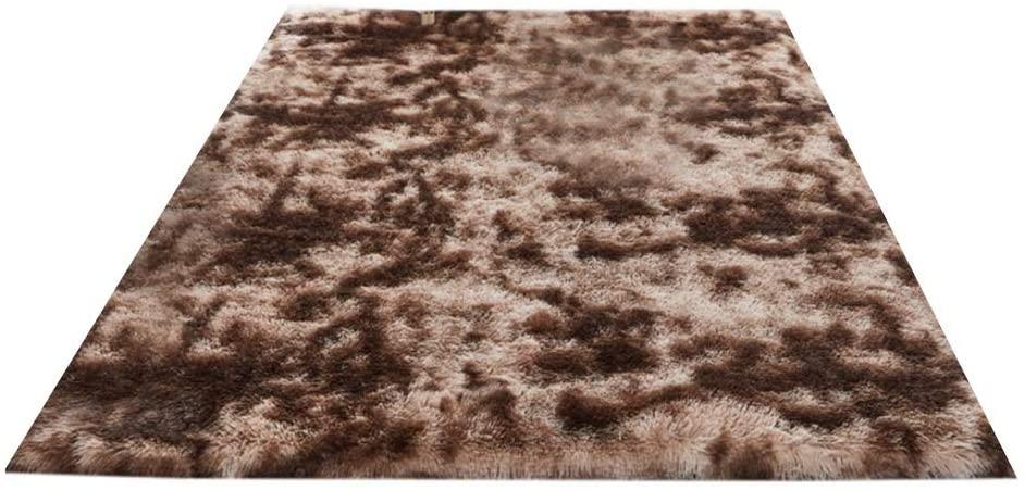 Hankyky Faux Fur Area Rug Luxurious Shag Carpet Rugs Plush Carpets Softest Fluffy Living Room Carpets for Children Bedroom Home Decor Nursery Rug for Bedroom, Living Room