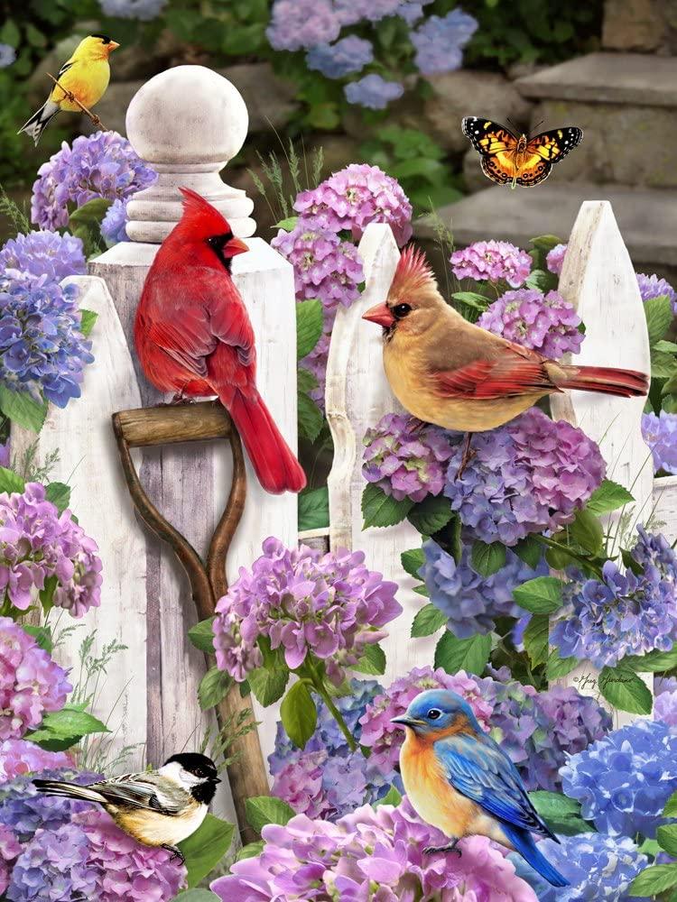 Cardinals & Friends Jigsaw Puzzle 550 Piece