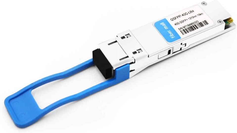 40G QSFP for Juniper SRX-QSFP-40G-LR4 Compatible 40GBASE-LR4 QSFP+ 1310nm 10km LC DOM Optical Transceiver Module
