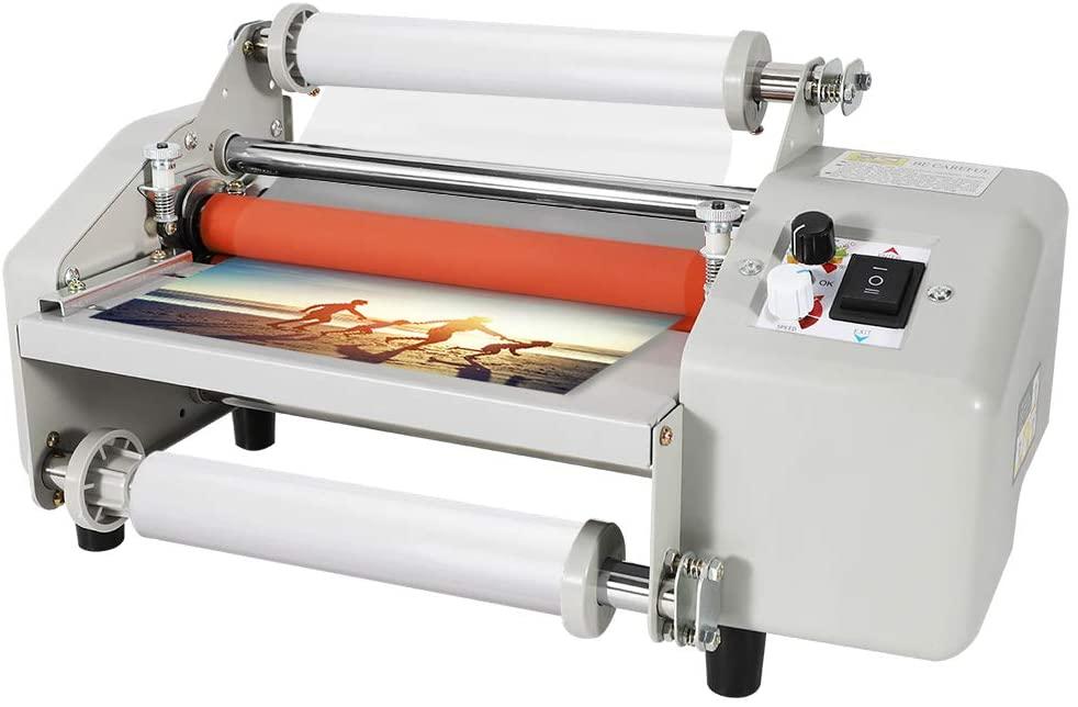 BAOSHISHAN 8230T Thermal Laminator A4/A5 Film Laminating Machine Hot&Cold Mode 3min Fast Warm-Up Speed Adjustment (110V)