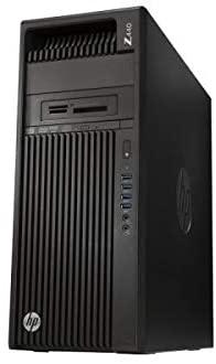 HP Z440 Tower Server - Intel Xeon E5-2630 V3 2.4GHz 8 Core - 96GB DDR4 RAM - LSI 9217 4i4e SAS SATA Raid Card - 600GB (2X 300GB SAS New HDD) - NVS 310 512MB - 525W PSU - Windows 10 PRO (Renewed)