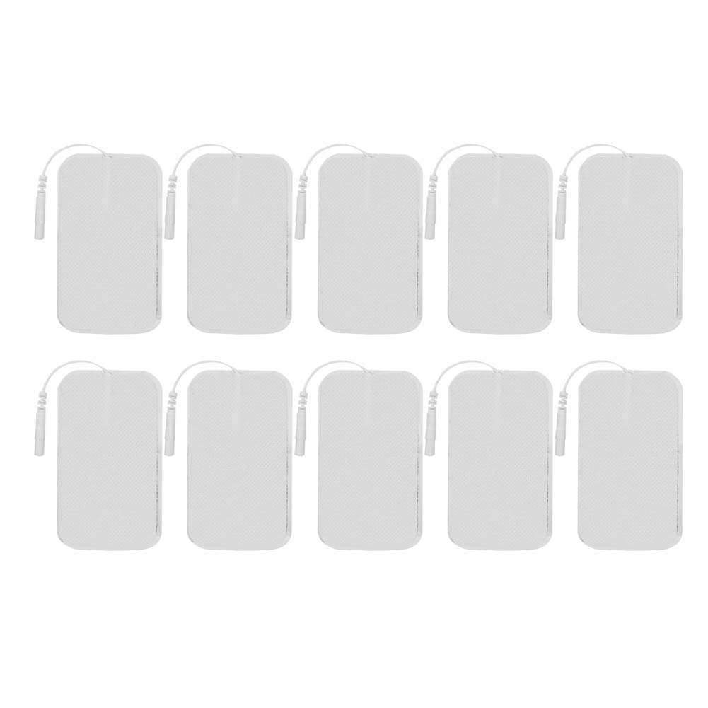 5 pairs Non-woven Fabric Electrode Patch Sticky Physiotherapy Replacement Pad Comfortable Reusable for Body Massager Machine