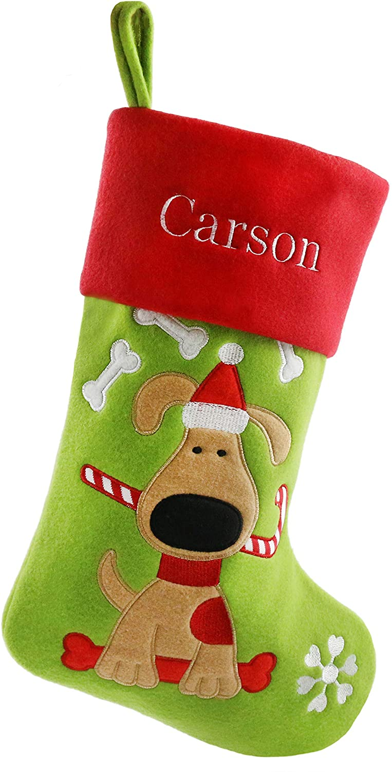 Bstaofy Personalized Christmas Stockings Home Decorations Gifts for Family 1 Piece,18'' (Style 8)