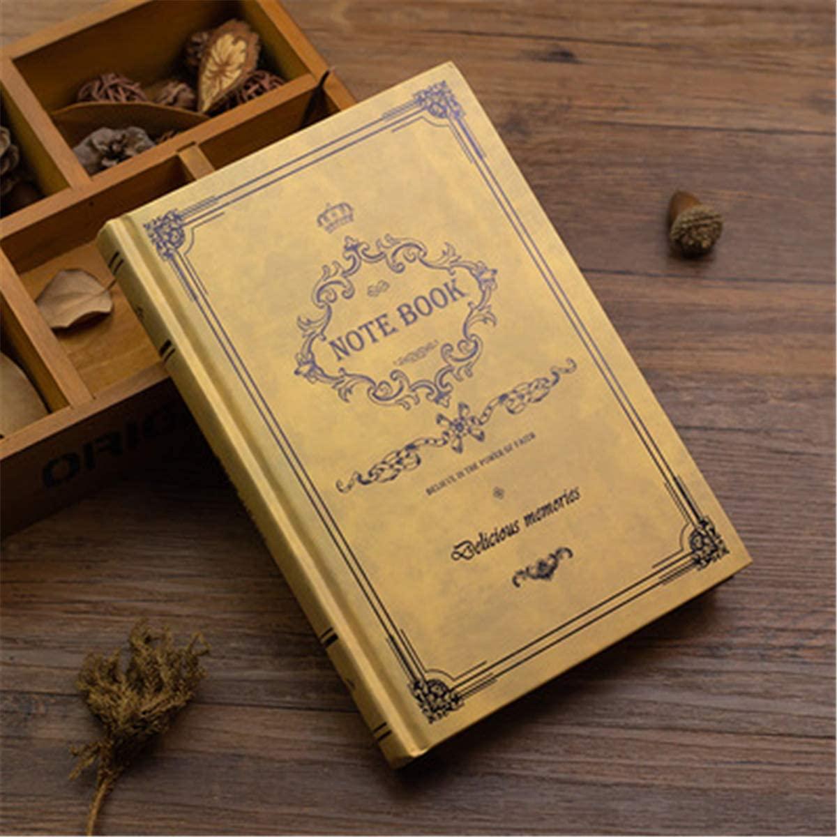 yangyang Retro Notebook Journals for Travelers Creative Planner Vintage Pattern School Supplies Student