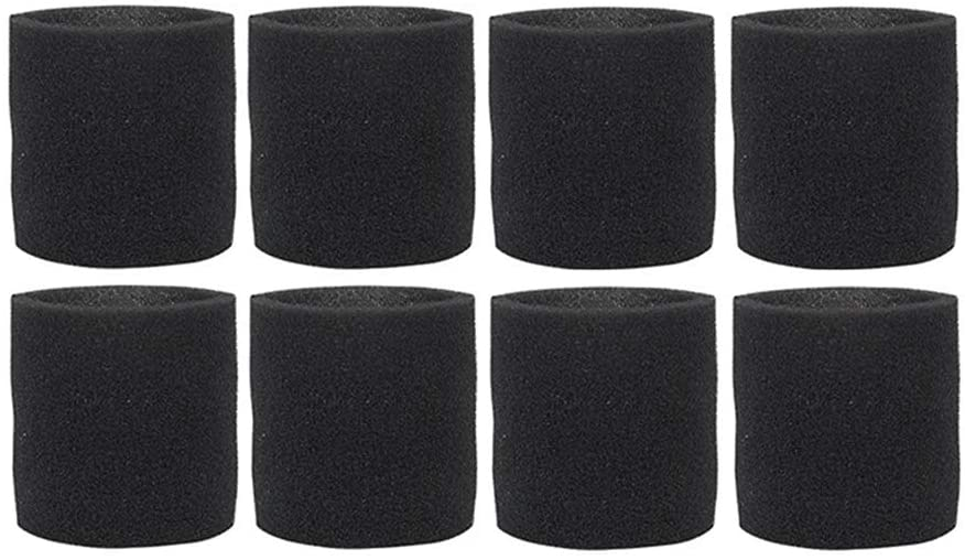 Odeal 8Pack 90585 Foam Sleeve VF2001 Foam Replacement Filter for Wet Dry Vacuum Cleaner, for Shop-Vac,