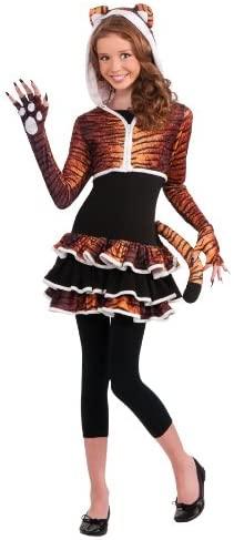 Rubies Drama Queens Tween Tigress Costume - Tween Medium (2-4)