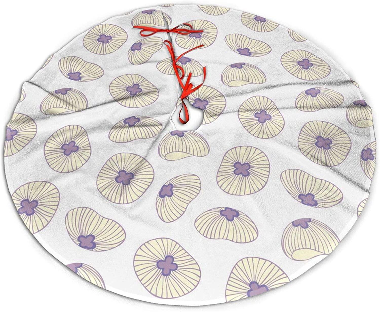 antkondnm Jellyfish Christmas Tree Skirt Holiday Decoration Skirts 36 Inch Small