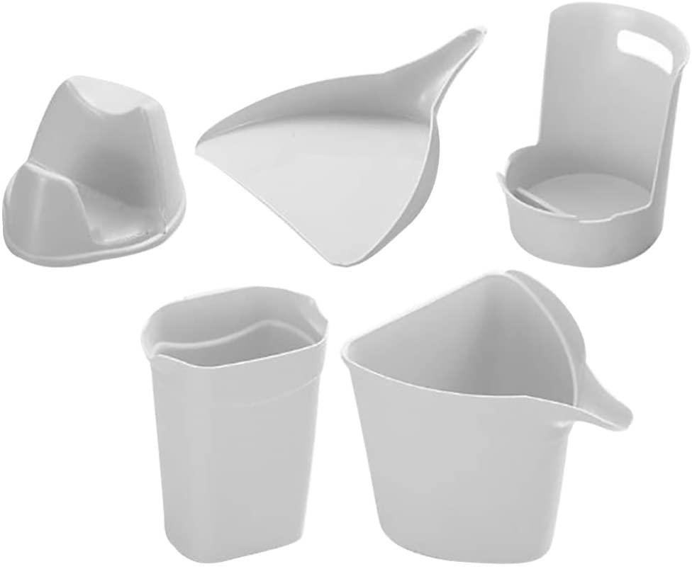YARNOW Kitchen Utensil Rest Set Spoon Rest Kitchen Tools Organizer Pan Pot Cover Lid Rack Kitchen Tools 5pcs