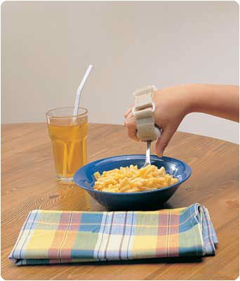 Pediatric Plastic Base Utensil Holder