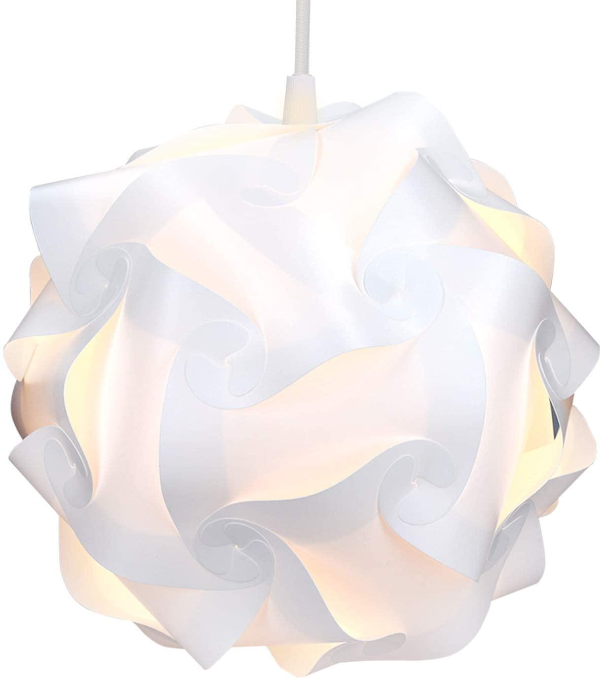 kwmobile Puzzle Lamp Pendant Light - 7.9