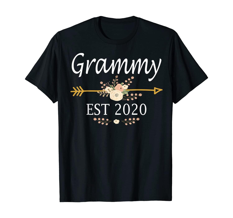 Grammy Est 2020 Shirt New Grammy Gift Mothers Day T-Shirt