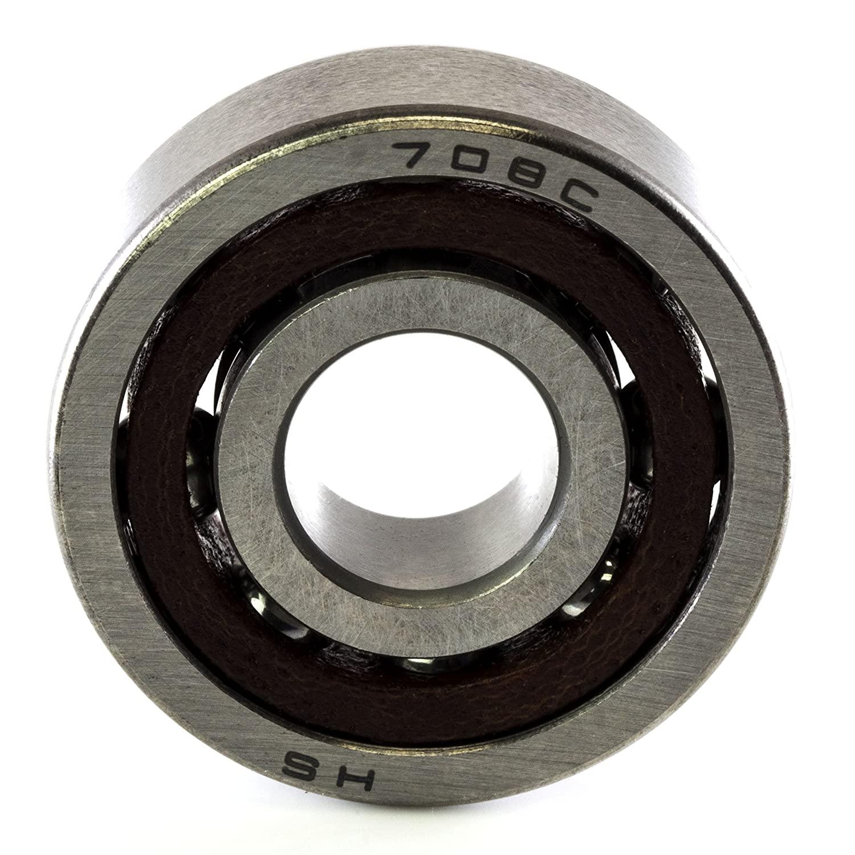 708A 8 x 22 x 7 Double Sealed Precision Ball Bearing CNC Slide Bushing