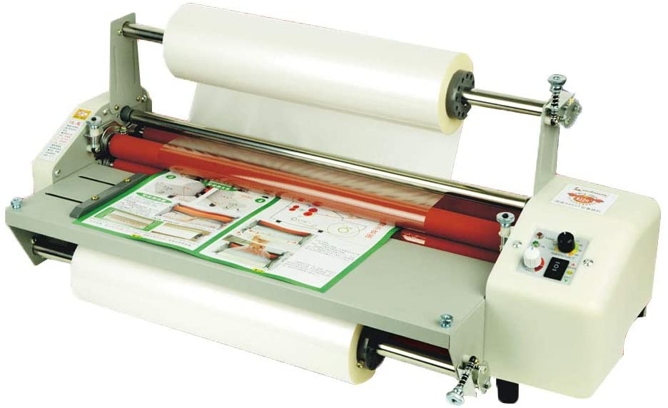 BAOSHISHAN Thermal Laminator A2+ Film Laminating Machine Hot&Cold Mode 3min Fast Warm-Up Speed Adjustment i9460T (110V)