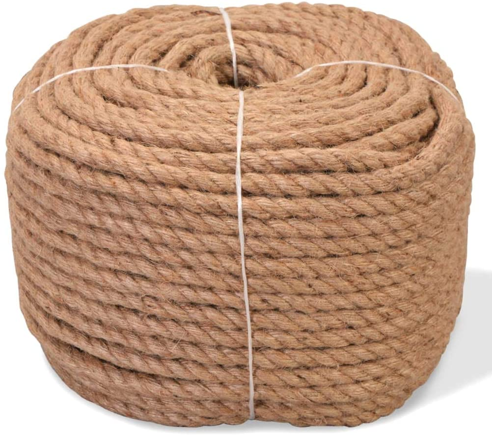 INLIFE Rope 100% Jute 0.39