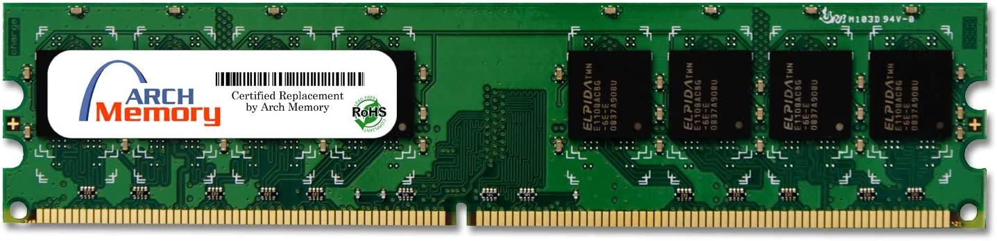 Arch Memory 2 GB 240-Pin DDR2 UDIMM RAM for HP Pavilion a6700z CTO