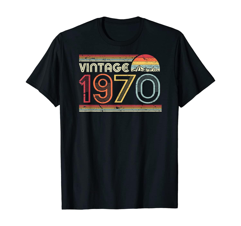 50th Birthday Gift Shirt. Classic, Vintage 1970 T-Shirt