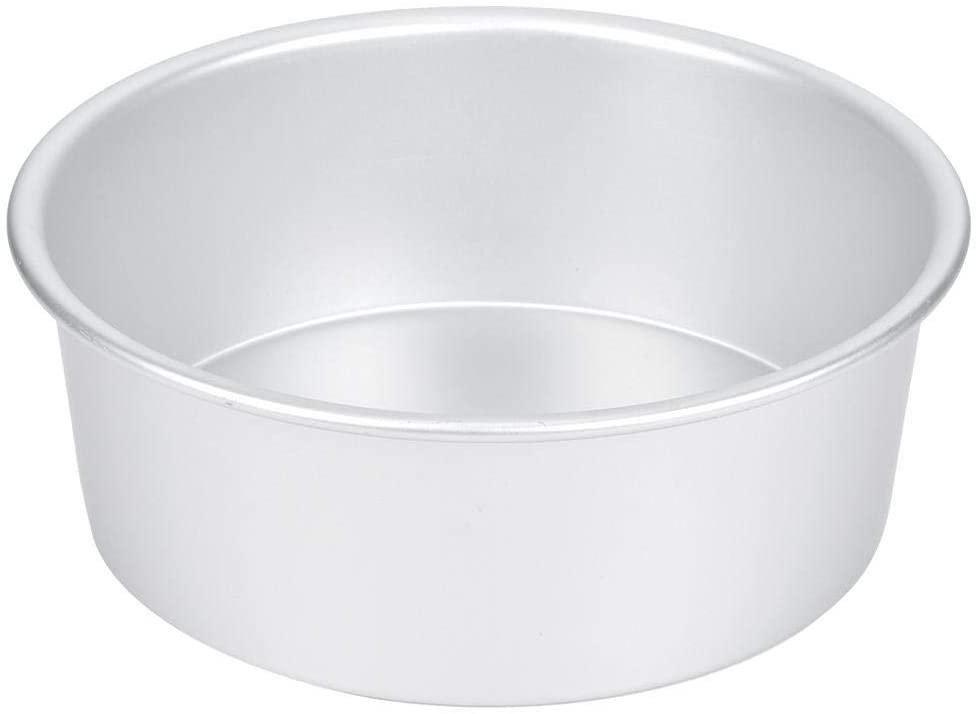 8 Inch Round Cake Pan Aluminium Baking Pan Heavy Duty Nonstick Easy Release