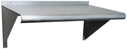 Universal WS1472 - Stainless Steel Wall Shelf - 14