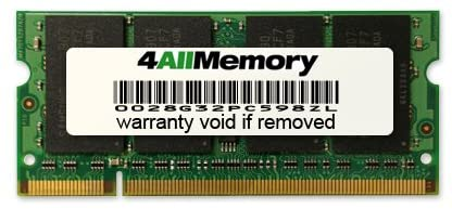 1GB DDR2-800 (PC2-6400) RAM Memory Upgrade for the Sony/Ericsson VAIO N Series NS290 (VGNNS290J/S)