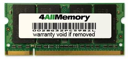 1GB DDR2-800 (PC2-6400) RAM Memory Upgrade for the Compaq HP EliteBook 8530p (FU617AW#ABA)