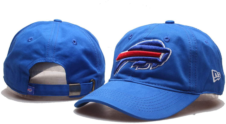 Wall Stickz Auto Parts Fit Bills Hat with Team Logo Unisex Baseball Hat (Bil)
