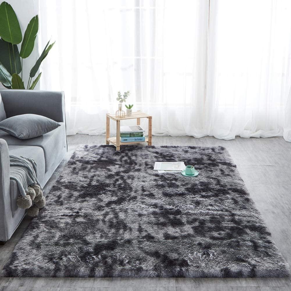 ZanLa Fluffy Area Rugs Carpet,Soft Faux Fur Anti-Skid Carpet,Indoor Modern Shaggy CarpetFor Living Room Bedroom Sofa Floor