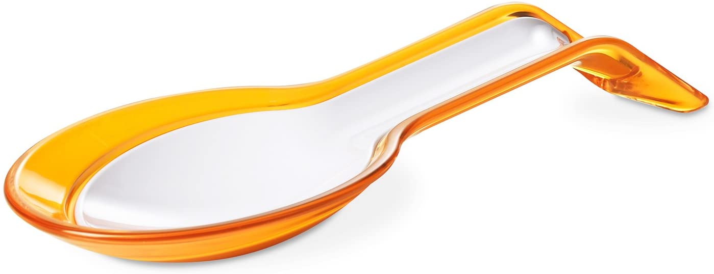 Omada Design dipper spoon in two separate pieces, white and colored, Trendy Line