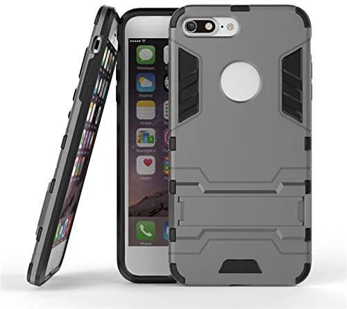 Aipyy iPhone 7 Plus/iPhone 8 Plus Case,[Hard PC+ TPU Soft Silicone] Shell Kickstand Case Hybrid Rugged Case Cover for iPhone 7 Plus/iPhone 8 Plus (5.5
