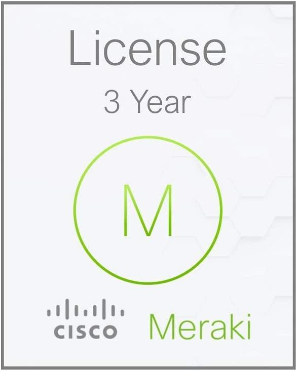 MX64-HW Cisco Meraki Cloud Managed Firewall 3 Year Enterprise License LIC-ENT-3YR
