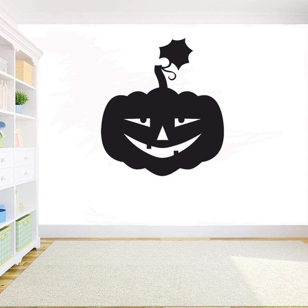 Wall Stickers for Kids Pumpkin Vinyl Wall Sticker Decal Creative Ghost Pumpkin Wall Home Decor Glass Decals 64 57Cm