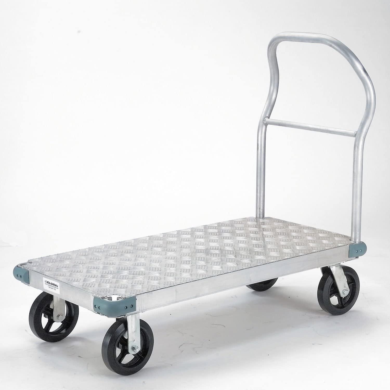 Platform Truck - Aluminum Diamond Deck, 60 x 30, 2400 Lb. Capacity, 8