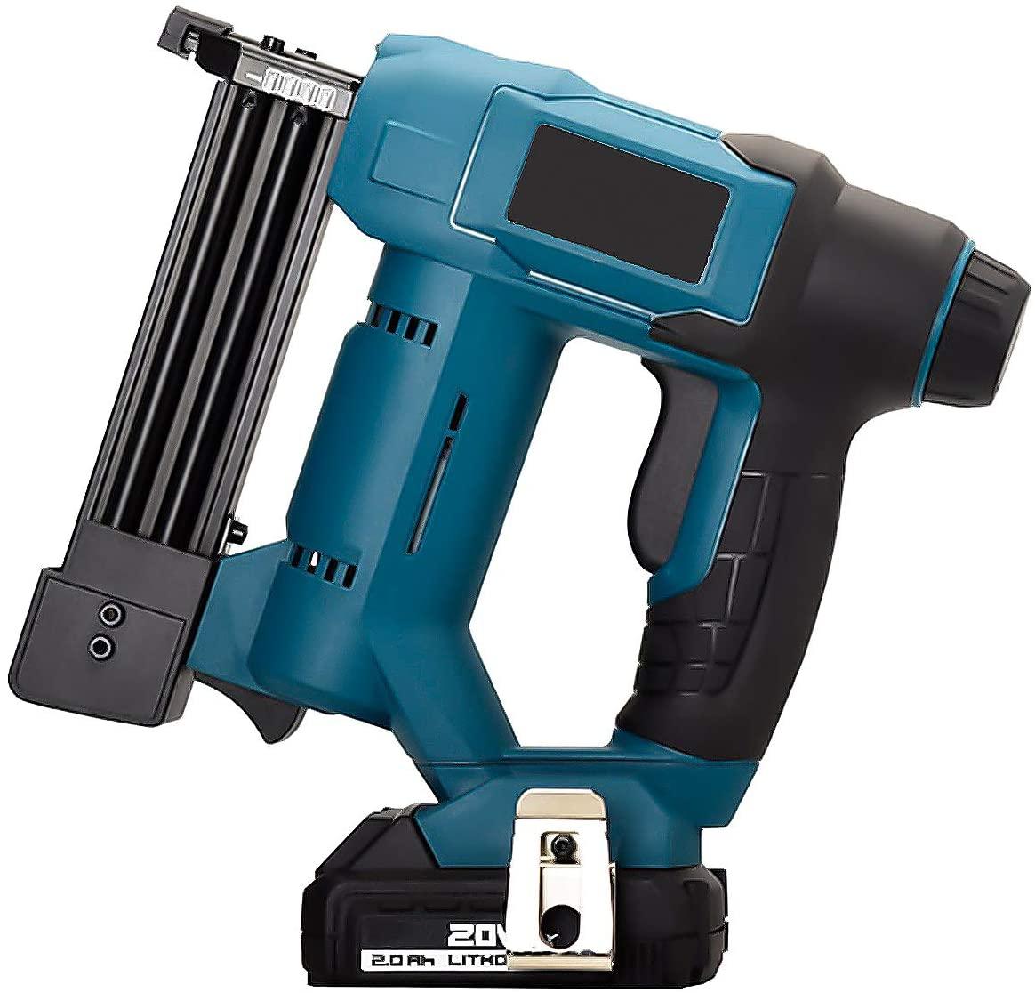 Electric nail gun Cordless Electric Gun Rechargeable Lithium Battery F30 / K425 Gas Nail Gun Hardware Upholstery Tools Fastening Hardware Decoration Carpentry Furniture