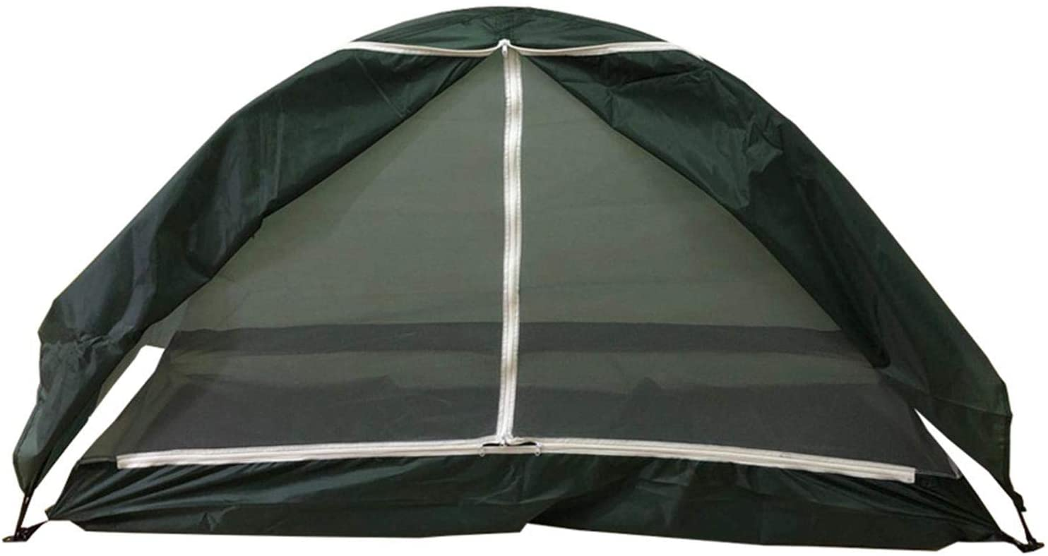 Besokuse Outdoor Camping Tent - Waterproof Single Tent Multifunctional Sunshade Tent for Camping Travel (Green)