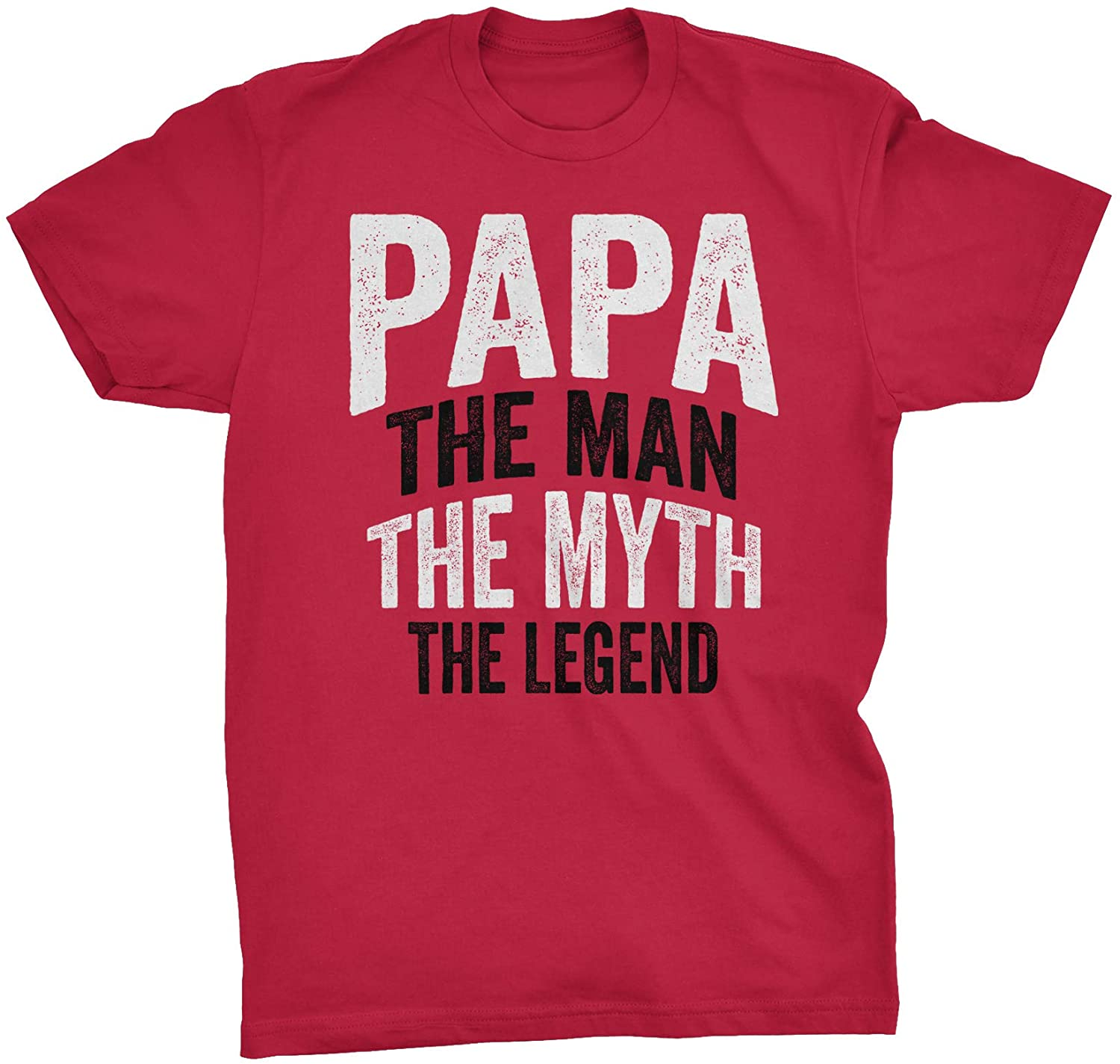 Papa The Man The Myth The Legend - Fathers Day Mens T-Shirt