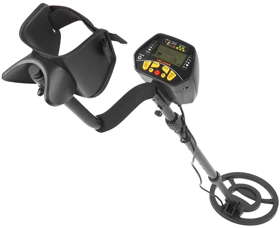 MD-3028 Metal Detector Portable LCD Underground High Sensitivity Metal Finder Pinpointing Gold Detector Waterproof Coil
