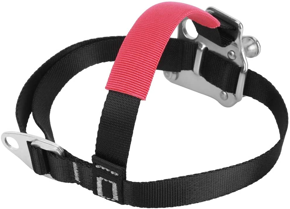 Taidda- Outdoor Foot Ascender, Wear Resistant Mountaineering Foot Riser, Aviation Aluminum 120KG Maximum Load for Mountaineering Rock Climbing