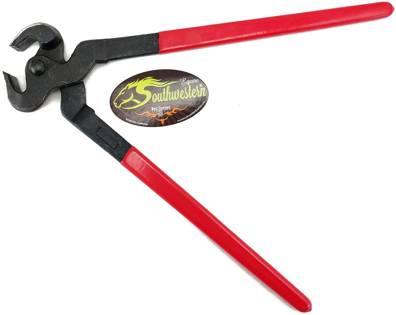 Southwestern Equine Farrier Hoof Nippers with Rubber Grip