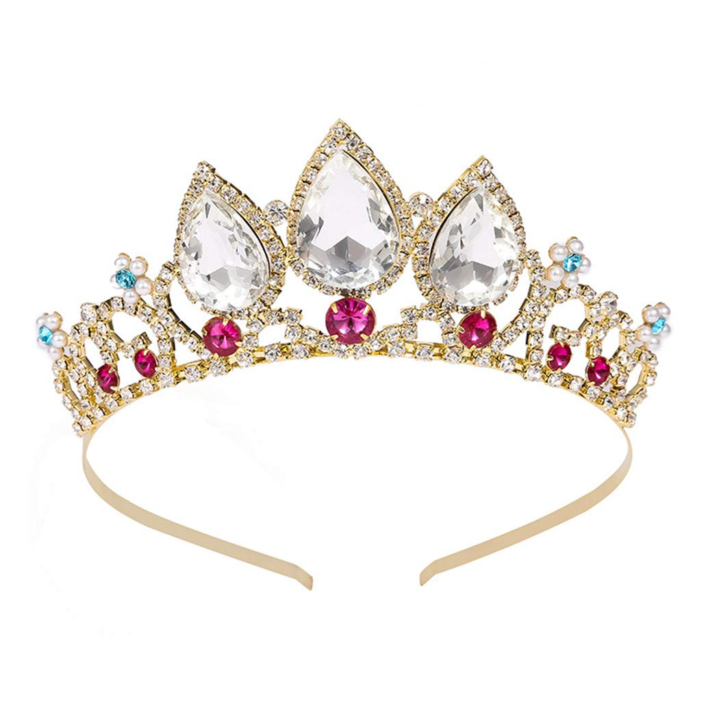 KICOSY Princess Crowns and Tiaras for Little Girls The Crowns for WomenTiaras and Crowns for Women Tiaras for Girls Tiara for Women Birthday Crowns for Women Princess Crowns and Tiaras Crown for Girls