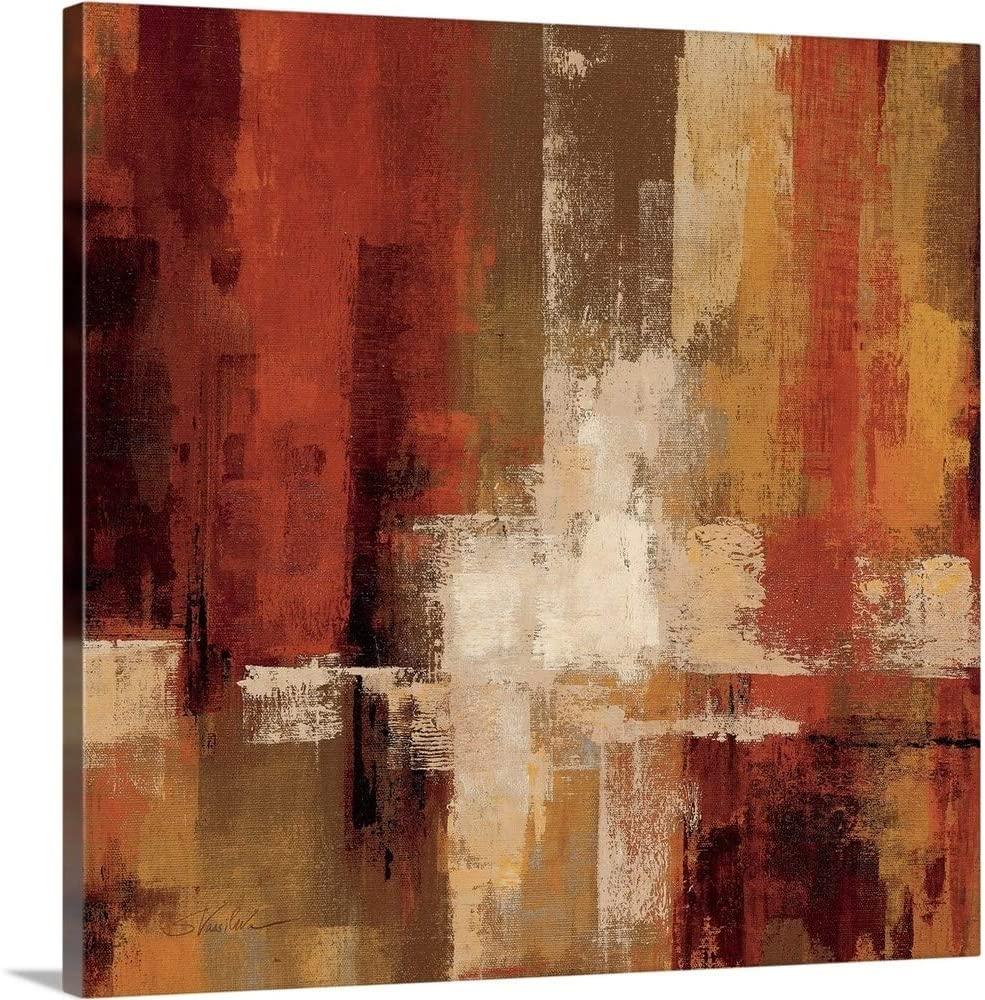 Castanets Crop Canvas Wall Art Print, 36x36x1.25