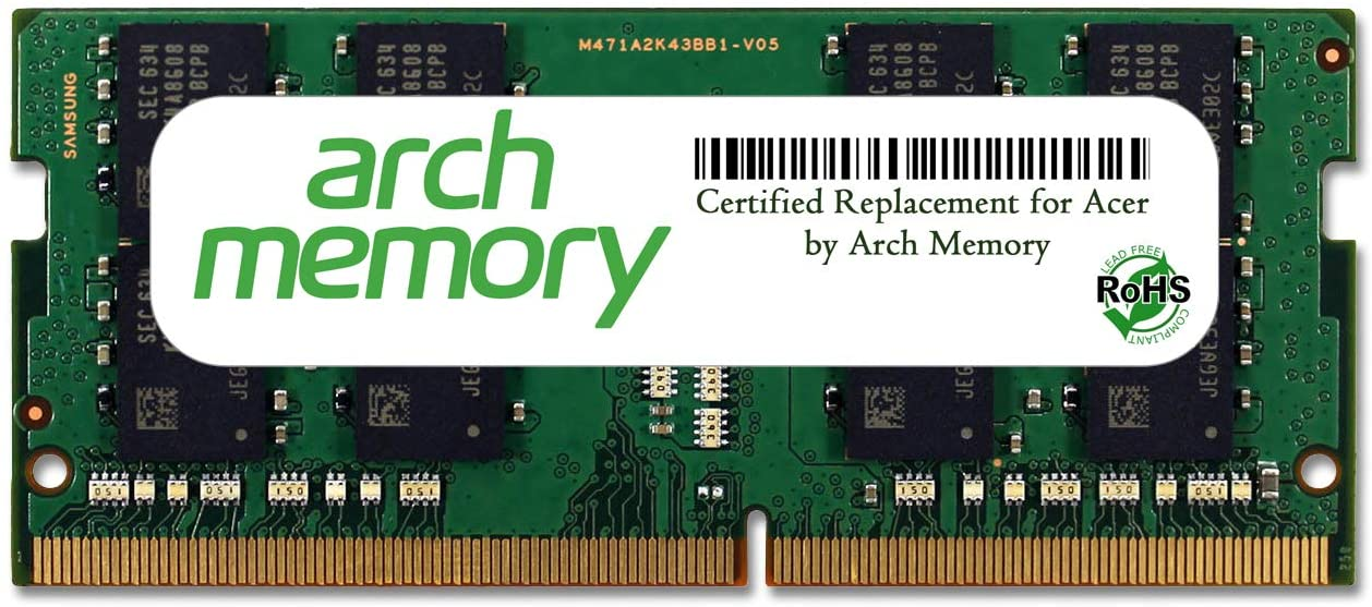 Arch Memory Replacement for Acer 16 GB 260-Pin DDR4 So-dimm RAM for Predator 15 G9-593-77WF
