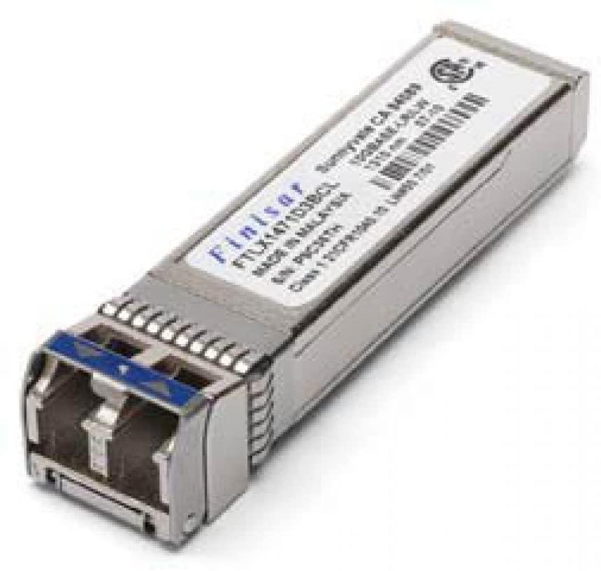 Finisar 10GBASE-LR 10Gb/s 10km 1310nm Single Mode Datacom SFP+ Transceiver FTLX1475D3BCL