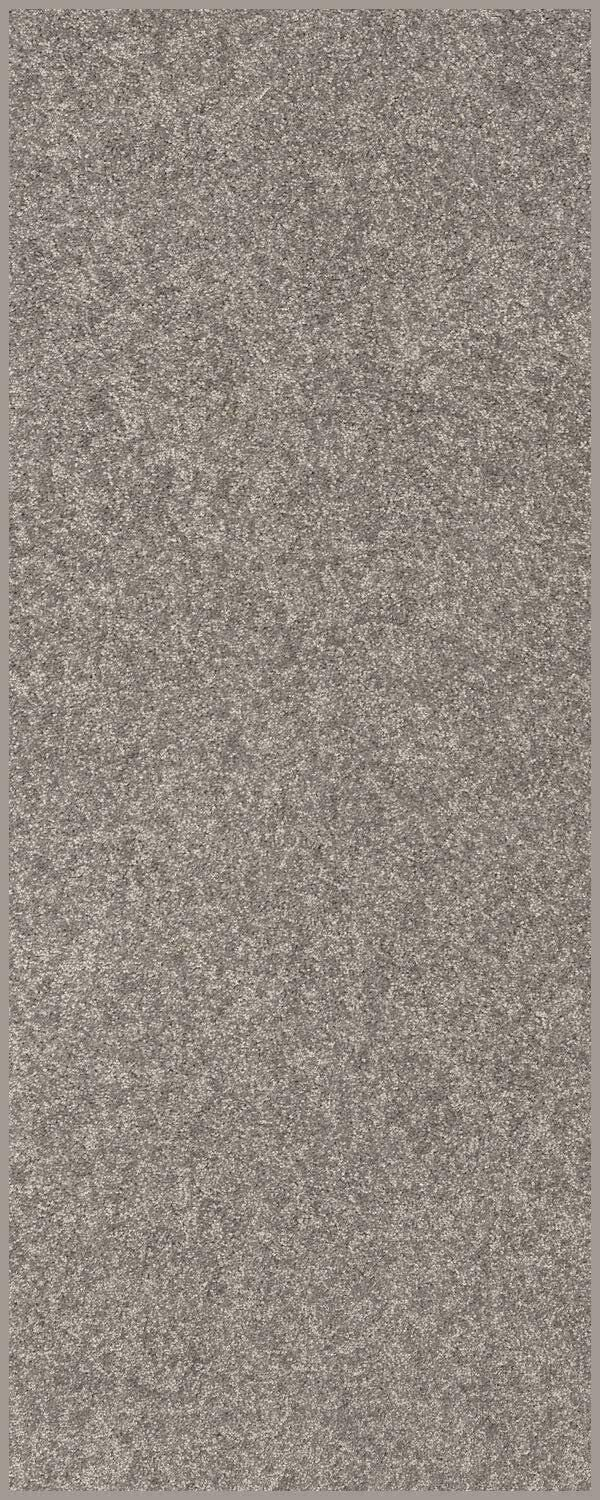 Modern Plush Solid Color Rug - Gray, 3' x 18', Pet and Kids Friendly Rug. Made in USA, Rectangle, Area Rugs Great for Kids, Pets, Event, Wedding