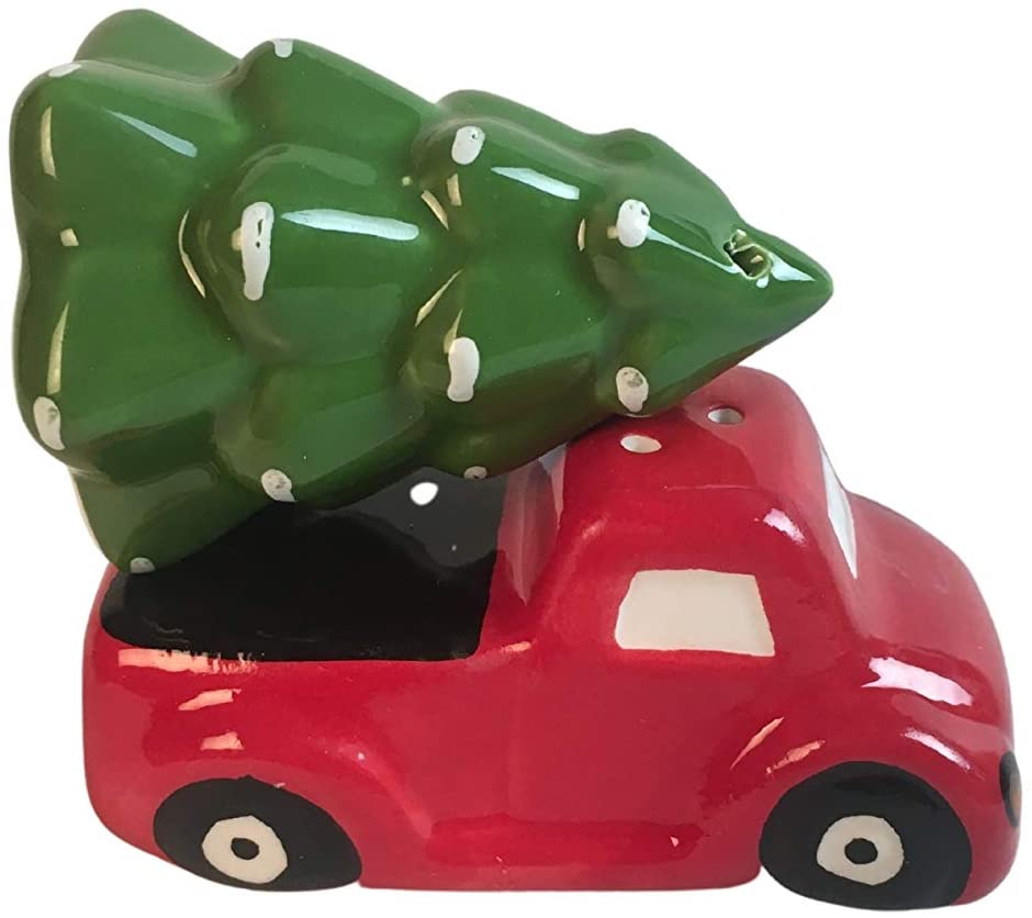 Christmas Salt and Pepper Shakers (Red Truck)