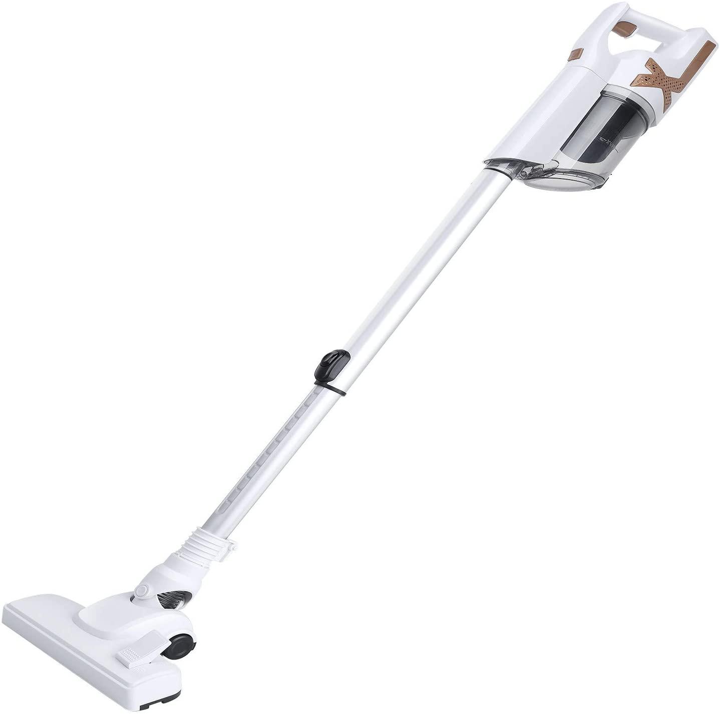 GBSELL Hand-Held Vacuum Ultra Light Cordless Cleaner, Multifunctional Household Vacuum Cleaner Mute Vacuum Cleaner, for Carpets & Hard Floors