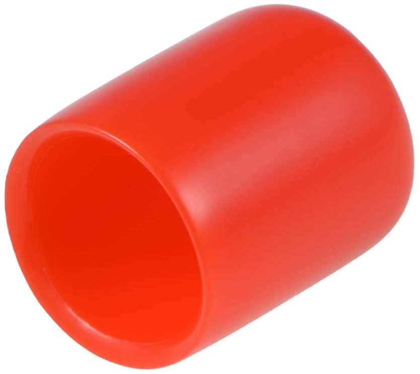 uxcell 20pcs Rubber End Caps 1/2