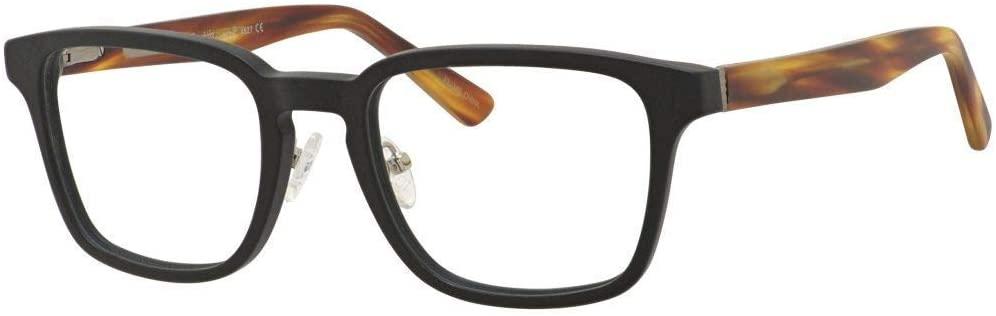 Ernest Hemingway Blue Light Filter& A/R Lenses H4827 Reading Glasses Black/Amber 51 mm