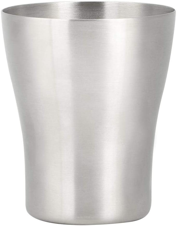 Home Water Drinking Cup,Thicken 304 Stainless Steel Water Drinking Cup Beer Mug Bottle for Home Bar Use