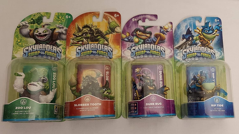 Skylanders Swap Force 4 Packs Adventure Characters