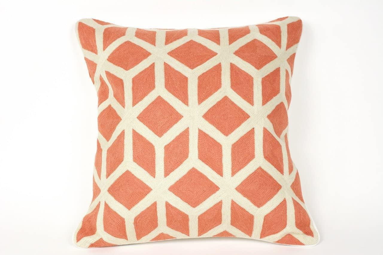 Eastern Pass Jaipur Throw Pillow