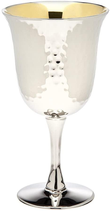 Godinger Hammered Wine Goblet Small
